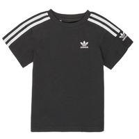 Ruhák Fiú Rövid ujjú pólók adidas Originals MINACHE Fekete