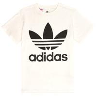 Ruhák Gyerek Rövid ujjú pólók adidas Originals SARAH Fehér