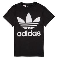 Ruhák Gyerek Rövid ujjú pólók adidas Originals MAXENCE Fekete