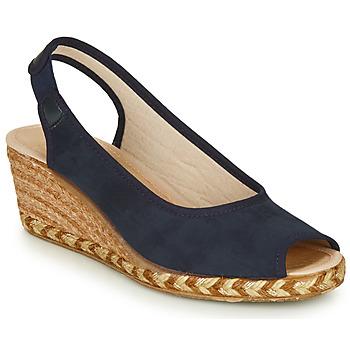 Cipők Női Gyékény talpú cipők Damart LORELO Tengerész