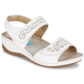 Cipők Női Szandálok / Saruk Damart MILANA Fehér