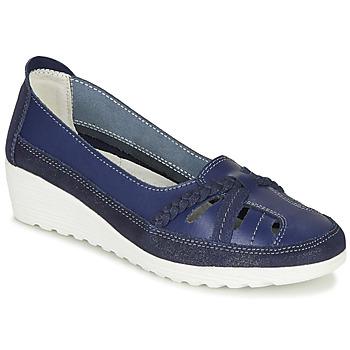 Cipők Női Balerina cipők  Damart MILANI Tengerész