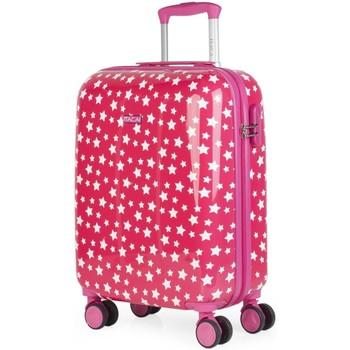 Táskák Lány Keményfedeles bőröndök Itaca STARS 40 liter Fukszia