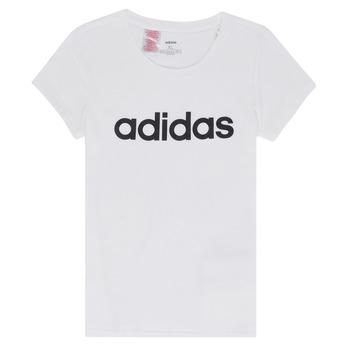 Ruhák Lány Rövid ujjú pólók adidas Performance NELIZO Fehér