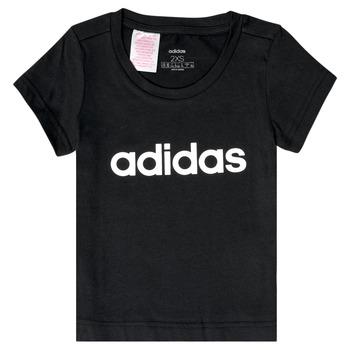 Ruhák Lány Rövid ujjú pólók adidas Performance NATRAZ Fekete