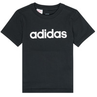Ruhák Fiú Rövid ujjú pólók adidas Performance NATAZO Fekete