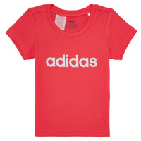 Ruhák Lány Rövid ujjú pólók adidas Performance MAKIT Rózsaszín
