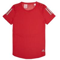 Ruhák Lány Rövid ujjú pólók adidas Performance MELINDA Piros