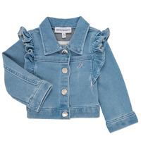 Ruhák Lány Kabátok / Blézerek Emporio Armani Aldric Kék