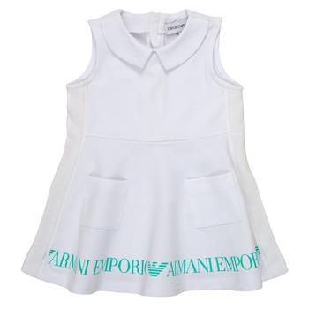 Ruhák Lány Rövid ruhák Emporio Armani Apollinaire Fehér