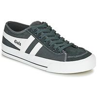 Cipők Rövid szárú edzőcipők Gola QUOTA II Grafit / Fehér