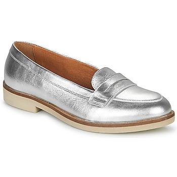 Cipők Női Mokkaszínek André EFIGINIA Ezüst