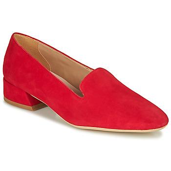 Cipők Női Mokkaszínek André JUBBA Piros