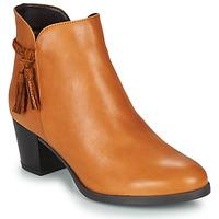 Cipők Női Csizmák André MARYLOU Teve