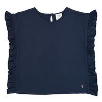 Ruhák Lány Rövid ujjú pólók Carrément Beau KAMILLIA Kék