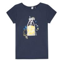 Ruhák Lány Rövid ujjú pólók 3 Pommes LOGAN Kék