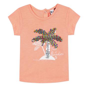 Ruhák Lány Rövid ujjú pólók 3 Pommes EMMA Narancssárga