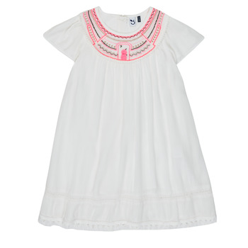 Ruhák Lány Rövid ruhák 3 Pommes LAURA Fehér