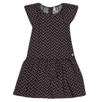 Ruhák Lány Rövid ruhák 3 Pommes JULIE Fekete