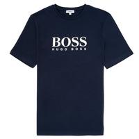Ruhák Fiú Rövid ujjú pólók BOSS ELIO Kék