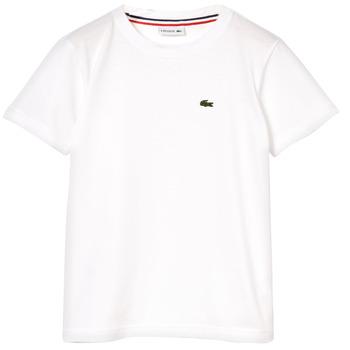 Ruhák Fiú Rövid ujjú pólók Lacoste NAE Fehér