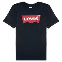 Ruhák Fiú Rövid ujjú pólók Levi's BATWING TEE Fekete