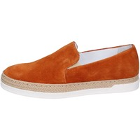 Cipők Női Belebújós cipők Bouvy slip on camoscio Marrone