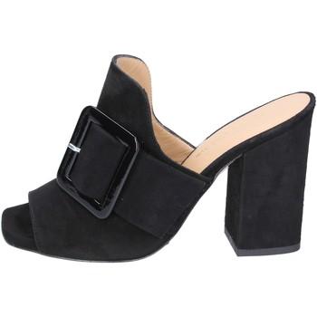 Cipők Női Papucsok Broccoli Szandál BP304 Fekete