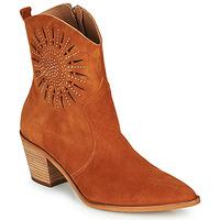 Cipők Női Bokacsizmák Fericelli MEYLIA Konyak