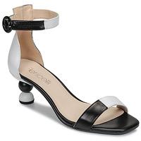 Cipők Női Szandálok / Saruk Fericelli MARC Fekete  / Et / Fehér