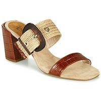 Cipők Női Papucsok Fericelli MARCO Bézs