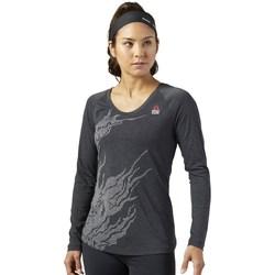Ruhák Női Hosszú ujjú pólók Reebok Sport Crossfit Burnout