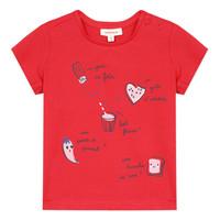 Ruhák Lány Rövid ujjú pólók Catimini MUSIKOU Piros