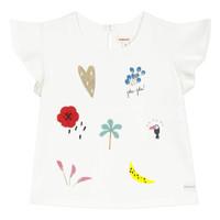 Ruhák Lány Rövid ujjú pólók Catimini NADEGE Fehér