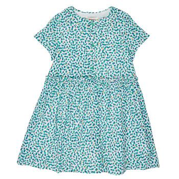 Ruhák Lány Rövid ruhák Catimini ELLA Zöld / Kék