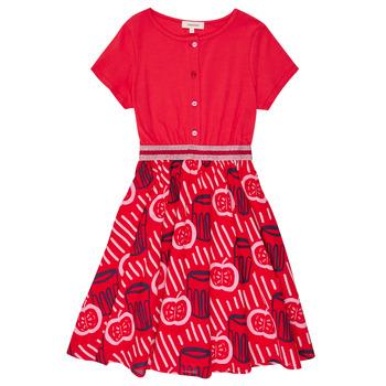 Ruhák Lány Rövid ruhák Catimini MANOA Piros