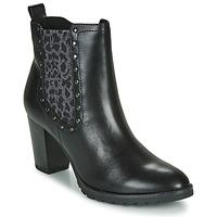 Cipők Női Bokacsizmák Caprice LUTIMA Fekete