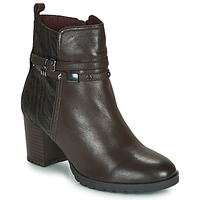 Cipők Női Bokacsizmák Caprice LUNITONE Barna
