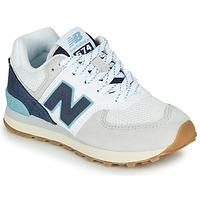 Cipők Rövid szárú edzőcipők New Balance GC574SOU Fehér / Kék