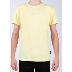 Ruhák Férfi Rövid ujjú pólók DC Shoes T-shirt DC EDYKT03376-YZL0 żółty