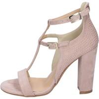 Cipők Női Szandálok / Saruk Olga Rubini sandali camoscio sintetico borchie Rosa