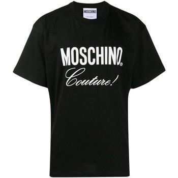 Ruhák Férfi Rövid ujjú pólók Love Moschino ZA0710 Fekete