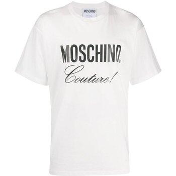Ruhák Férfi Rövid ujjú pólók Love Moschino ZA0710 Fehér