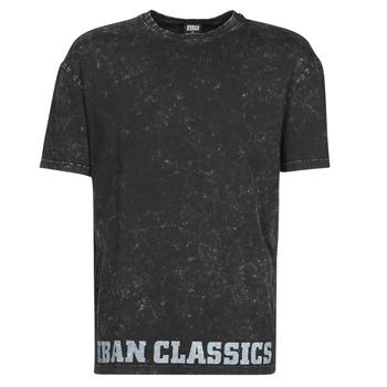 Ruhák Férfi Rövid ujjú pólók Urban Classics TOBI Fekete