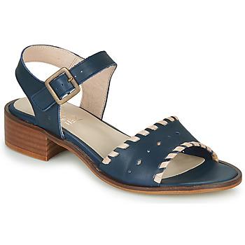 Cipők Női Szandálok / Saruk Casual Attitude RINEILUE Fekete  / Ezüst
