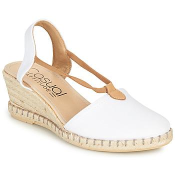 Cipők Női Szandálok / Saruk Casual Attitude MAYA Fehér