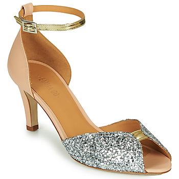 Cipők Női Szandálok / Saruk Emma Go JOLENE GLITTER Rózsaszín / Ezüst / Arany