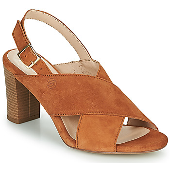 Cipők Női Szandálok / Saruk Betty London MARIPOL Konyak