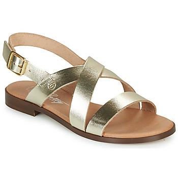 Cipők Női Szandálok / Saruk Betty London MADISSON Arany