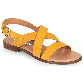 Cipők Női Szandálok / Saruk Betty London MADISSON Citromsárga